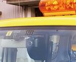 車に設置したドライブレコーダー
