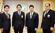 福田市長を訪問