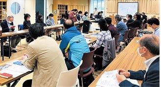 夢パークでの第1回実行委員会=同団体提供