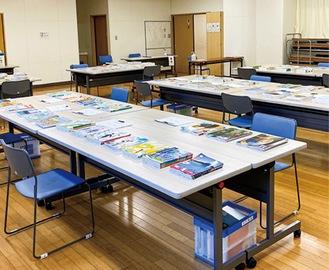 昨年の教科書展示会