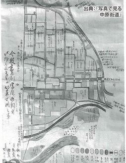 旧小杉村の畑について記録した資料