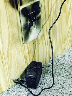 電気関係の発火時