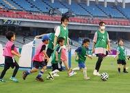 親子で楽しむサッカー教室