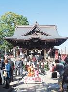 安産や子育ての溝口神社で七五三詣