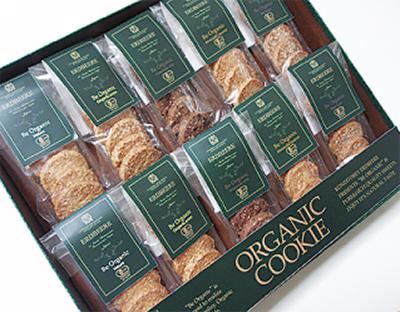 有機JAS認定のクッキー販売