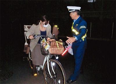 自転車事故 昨年より増加