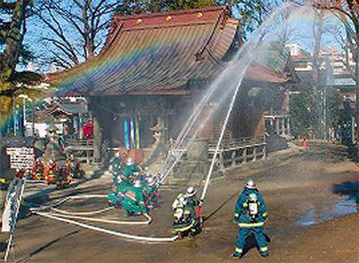 文化財を火災から守れ