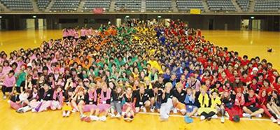 1000人の学生大運動会
