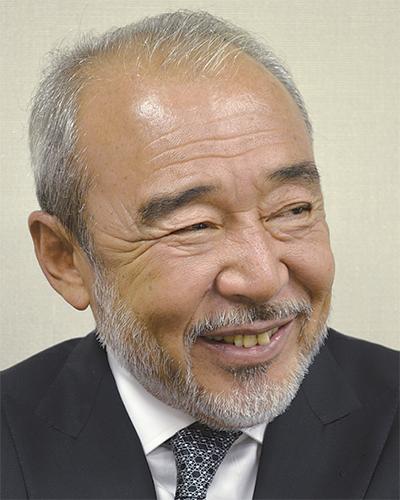 中原警察署で講演を行った作家 北方 謙三さん 中原区在住 64歳