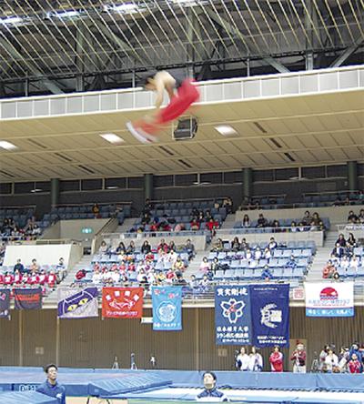 高難度のジャンプ連発