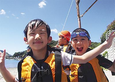 海の大冒険キャンプ