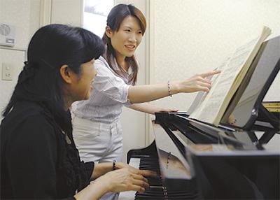 50歳からの易しいピアノレッスン