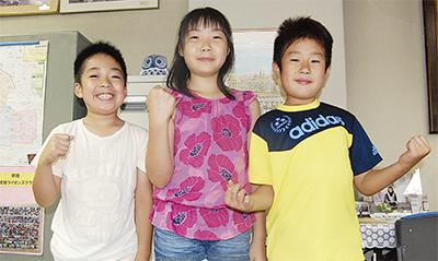 児童3人が囲碁で全国へ