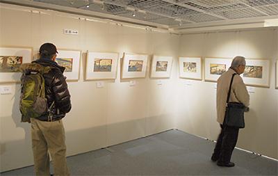 行書東海道の浮世絵展