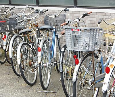 自転車の 放置自転車 警察 : 自転車置き場でも注意が必要