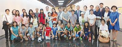 韓国・富川で市民交流