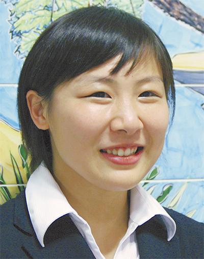 浜田 千穂さん
