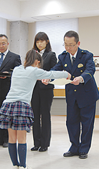 児童31人ら善行表彰
