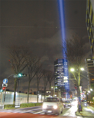 小杉の街から「光のエール」
