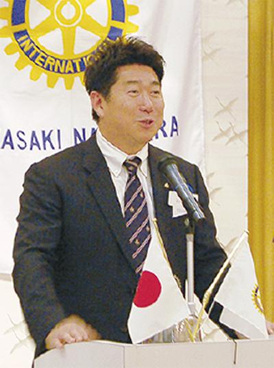 福田市長、米国での逸話語る