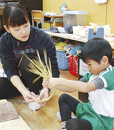 伝統文化を子どもたちへ