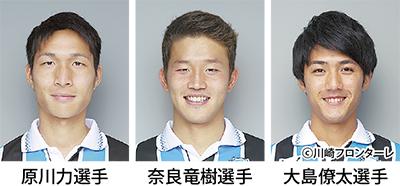 AFC優勝の3選手に期待