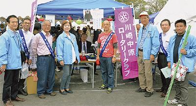 バザー収益金を熊本に寄付