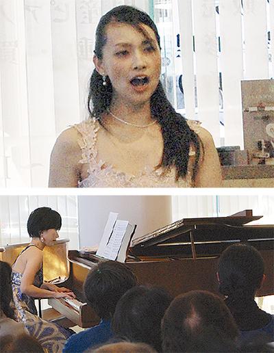 響き合うピアノと歌声
