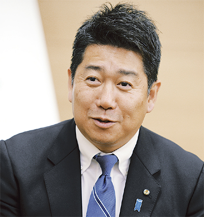 子育て支援や、行財政改革について語る福田市長