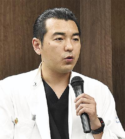 講師となった嶋田恭輔医長