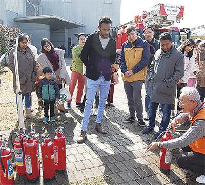 外国人も地震に備え