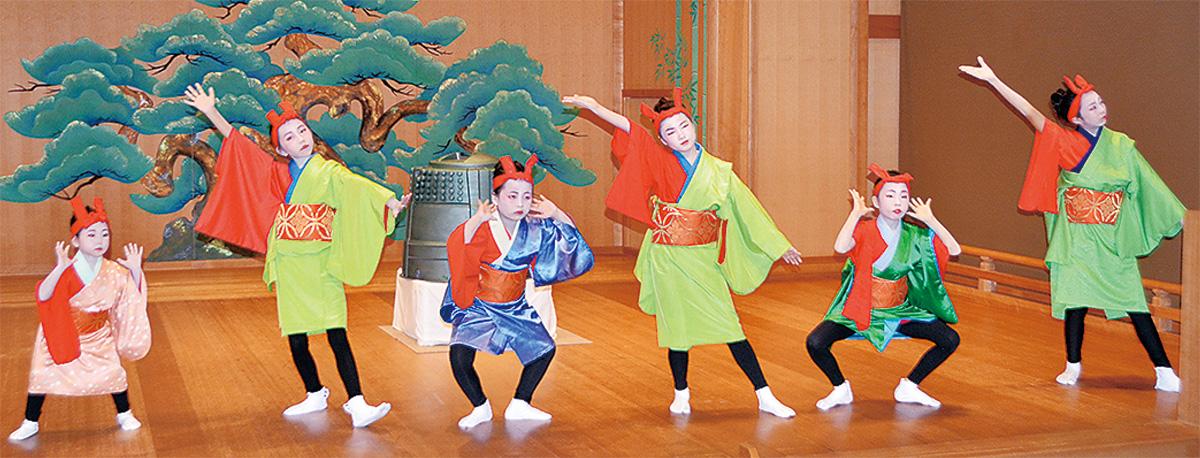 川崎能楽堂で舞台披露