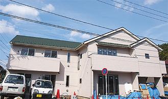 2階がグループホーム1階が小規模多機能施設になっている