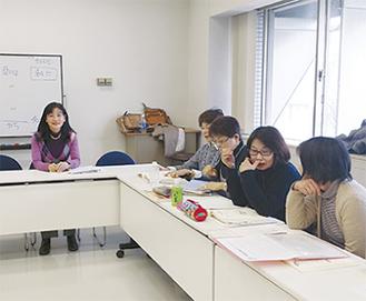 韓国語講座の風景