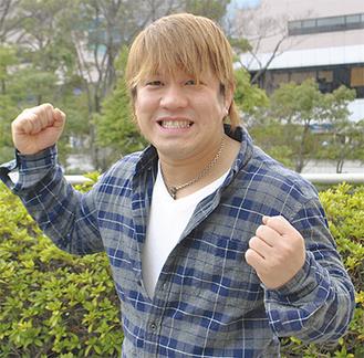 気合十分の田村選手