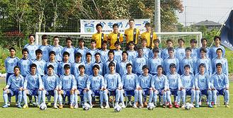 県内最多となる9回目の出場を果たす桐光学園サッカー部