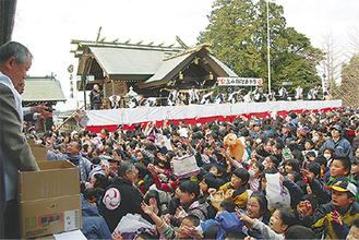 福を求め、多くの人で溢れる高石神社