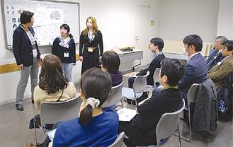 2月に行われた暴力防止プログラムの説明会