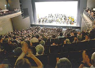 東京交響楽団によるフィナーレ公演の様子