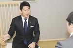 今年の麻生区の取り組みについて語る福田市長