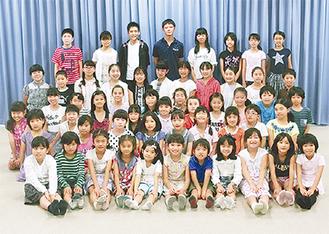 あさお芸術のまち少年少女合唱団のメンバー