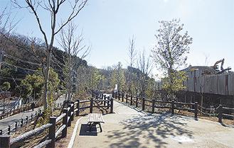 王禅寺かわるんパーク(散策路)