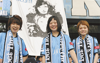 メンバーの(右から)松岡さん、宮崎さん、吉川さん