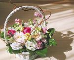 お花のとうかえんでフラワーアレンジメント作り