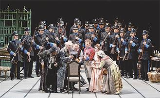 藤原歌劇団によるオペラ「セビリャの理髪師」