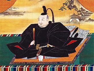 徳川家康像(狩野探幽画、大阪城天守閣蔵)