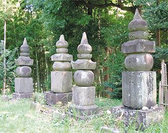 殿様の墓―早野・戒翁寺―