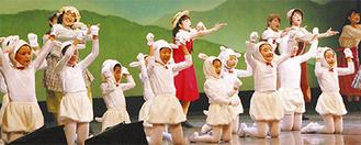 地域の子どもが出演したチャリティミュージカル