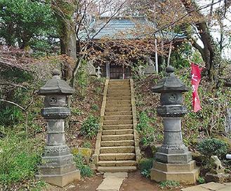 上麻生・秋葉神社―浄慶寺―