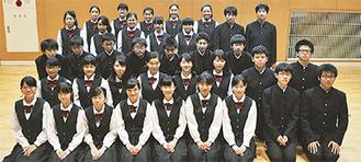 初の関東コンクールに挑む桐光中合唱部の部員たち